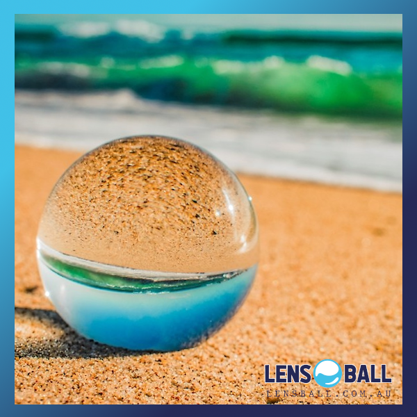 Crystal Ball Photography beach clear sky blue beach sand waves ocean beach lensballs